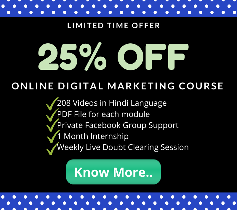 Digital marketing course in patna